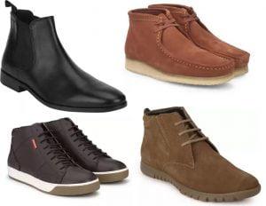 Boot Shoes for Men (Puma, Red Tape, Provogue & more) – Flat 50% – 73% off @ Flipkart