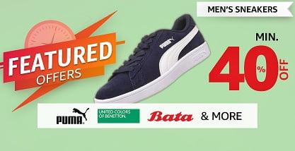 Amazon Flash Sale: Men's Shoes Min 40% off