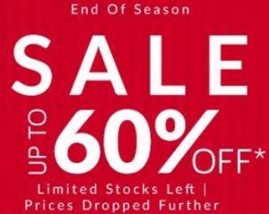 West Side Sale: upto 60% off on Men's, Women's & Kids Fashion Styles @ Tatacliq
