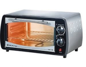 Bajaj 1000 TSS 10-Litre Oven Toaster Grill (Silver/Black) for Rs.2154 – Amazon
