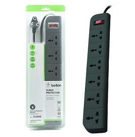 Belkin Essential Series 6-Socket Surge Protector for Rs.1169 – Amazon