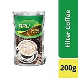 Bru Green Label Coffee, 200g