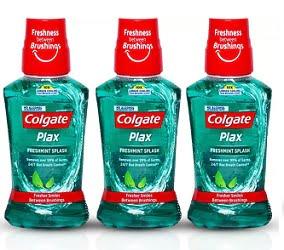 Colgate Plax Mouthwash – Mint  (750) worth Rs.210 for Rs.168 – Flipkart