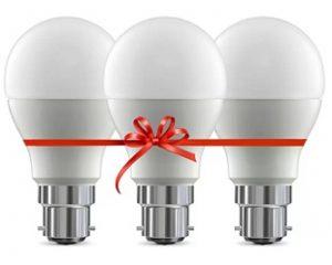 Cooldone 10 W Standard B22 LED Bulb  (White, Pack of 3) for Rs.202 – Flipkart