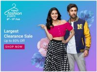 Flipkart Fashion Clearance Sale: Flat 50% – 80% off on Clothing, Footwear & Accessories
