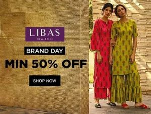 Libas Ladies Fusion wear – Minimum 50% off @ Jabong