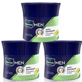 Parachute Advansed Men Hair Cream, Anti-Dandruff, 100 gm (Pack of 3)