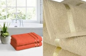 Story@home 100% Cotton (450 GSM) Set of 2 Bath Towels for Rs.539 @ Myntra