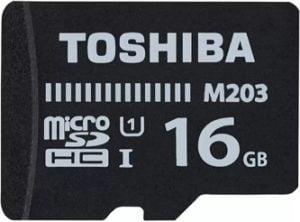 Toshiba M203 16 GB MicroSD Card Class 10 100 MB/s Memory Card for Rs. 269 – Flipkart