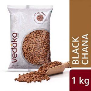 Vedaka Premium Black Chana, 1 kg for Rs. 59 @ Amazon PANTRY