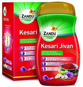 Zandu Kesari Jivan 900 g worth Rs.720 for Rs.622 – Amazon (Limited Period Deal)