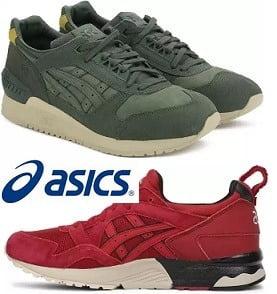 Asics TIGER Shoes with GEL Respector 50% – 75% off @ Flipkart
