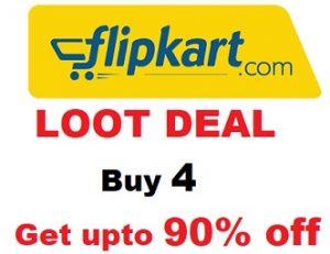 Magic Offer: Buy 4 Products & Get upto 90% off @ Flipkart