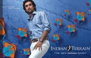 Indian Terrain Men Clothing - Flat 50% -70% Off