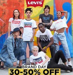 Levi's Men's & Women's Clothing, Footwear & Fashion Accessories – 30% – 50% off @ Jabong