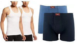 Rupa Men's Innerwear – Flat 50% – 77% off @ Flipkart