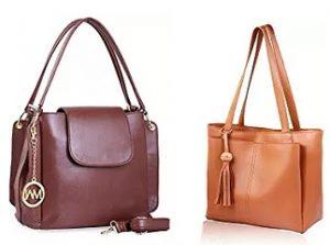 """Women Mark"" Ladies Handbags – Minimum 70% off @ Amazon"