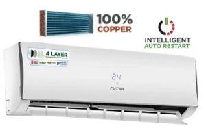 AVOIR SPLIT AIR CONDITIONERS (Copper Coil) – 37% OFF for 21,999 – Flipkart