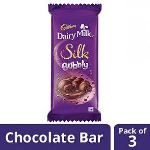 Cadbury Dairy Milk Silk Fruit and Nut (137g x 3)