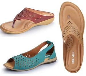 Footsoul Women's Footwear – Flat 75% off @ Amazon