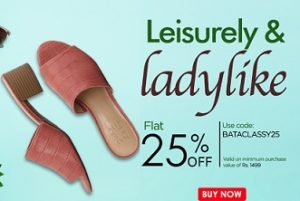 Women's BATA Chappal & Slippers (New Arrivals) – Get Flat 25% Off @ BATA