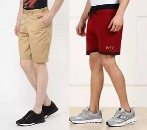 Men's Casual Shorts – Minimum 50% off @ Flipkart