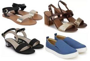 Women's Footwear – Minimum 70% off under Rs.999 @ Flipkart