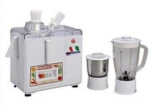 Signora Care SJG-2100 500-Watt 3 in 1 Juicer Mixer Grinder