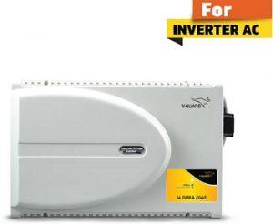 V-Guard i4 Dura 2040 For 1.5 Ton Inverter A.C (Working Range: 160V To 280V) Voltage Stabilizer for Rs.2799 – Flipkart