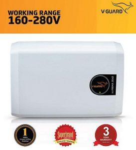 V-Guard i4 Prima 2040 Stabilizer for Inverter AC Up to 1.5 Ton (160V-280V) for Rs.2,649 – Amazon