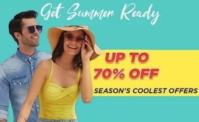 Flipkart Summer Fashion Sale: upto 70% off on Clothing, Footwear & Fashion Accessories