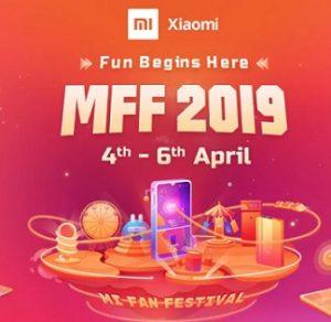 Mi Fan Festival: Mobile Phones upto 6000 Off + Extra 5% off @ Flipkart