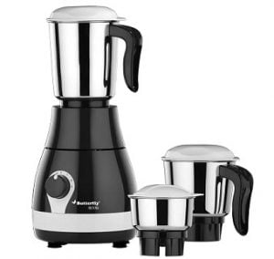 Never Before Price: Butterfly Arrow 500 W Mixer Grinder (Grey, 3 Jars) for Rs.1,599 – Flipkart