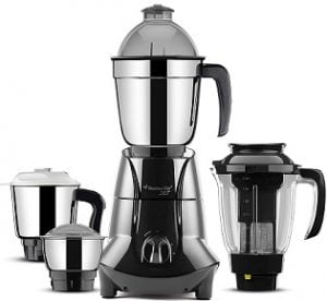 Butterfly Jet Elite 750-Watt Mixer Grinder with 4 Jars