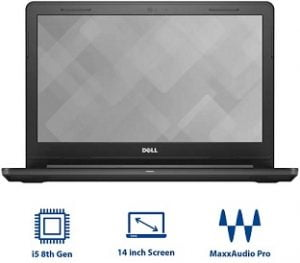 Dell Vostro 14 3000 Core i5 8th Gen – (4 GB/1 TB HDD/Linux / 2 GB Graphics) 3478 Laptop  (14 inch, 1.76 kg) for Rs.33,990 – Flipkart