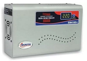 Microtek EM4160+ Digital Display For AC upto 1.5Ton (160V-285V) Voltage Stabilizer for Rs.1399 – Flipkart