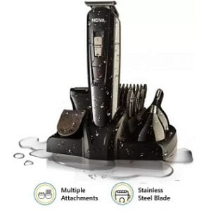 Nova NG 1151 100 % waterproof Corded & Cordless Trimmer for Rs. 1299 @ Flipkart