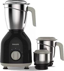 Philips HL7756/00 750 W Mixer Grinder  (Black, 3 Jars) for Rs.2,944 – Flipkart