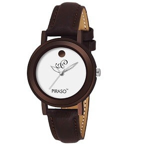 Piraso Analog Brownish Watch for- Women for Rs.297 – Amazon