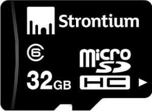 Strontium SR32GTFC10R 32GB Micro SDHC Class-6 Memory Card for Rs.279 – Amazon