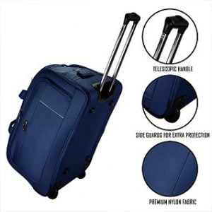 Thames Polyester 62cms Travel Duffel Bag | Check-in Trolley Luggage for Rs.2065 – Amazon