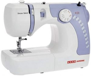 Usha Janome Dream Stitch Automatic Zig-Zag Electric Sewing Machine for Rs.7289 – Amazon