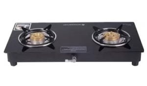 Wonderchef Ruby 2 Burner Glass Gas Stove for Rs.1799 – Flipkart