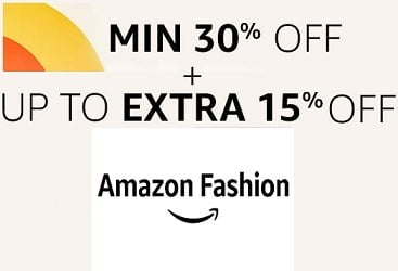Amazon Basket Offer on Fashion Styles: Buy 2 Extra 10% Off | Buy 3 Extra 15% off (Valid till Today)