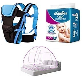Baby Diapers & more – upto 50% Off @ Amazon