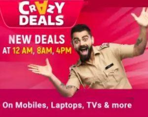 Crazy Deals @ Flipkart : Jaw Dropping Deals at every 8 Hour