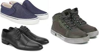 Top Brand Men's Footwear – Minimum 70% off @ Flipkart