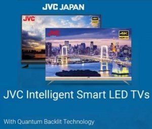JVC Smart Television: upto 47% off
