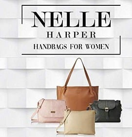 NELLE HARPER Women's Handbags & Clutches – Minimum 70% off @ Amazon