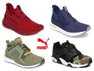 Puma Shoes Flat 60% – 70% off @ Myntra